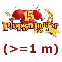 Plopsa Indoor Hasselt adulte (>=1 m)